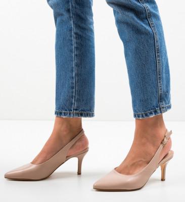Pantofi Farpi Nude