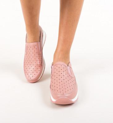 Pantofi Ferne Roz