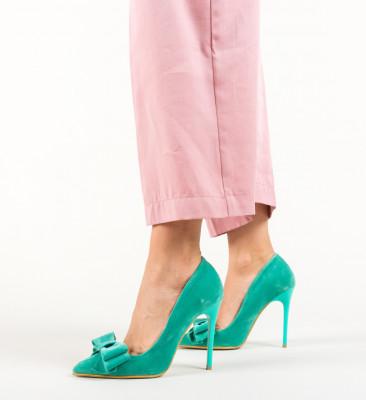 Pantofi Fundez Turcoaz