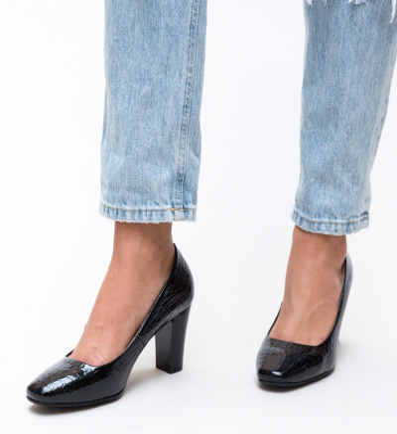 Pantofi Fyn Negri 2