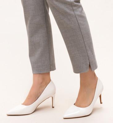 Pantofi Grace Albi