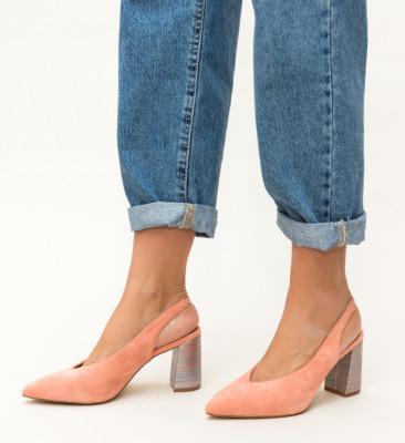 Pantofi Iwan Portocalii