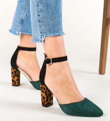 Pantofi Kory Verzi