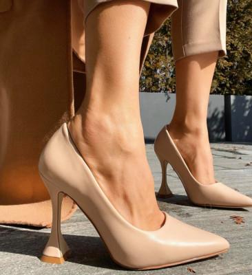 Pantofi Lena Bej