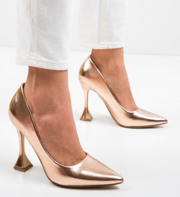 Pantofi Lena Bronz
