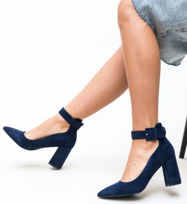 Pantofi Loga Bleumarin