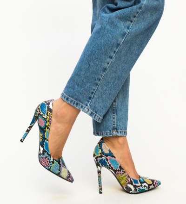 Pantofi Lolo Albastri