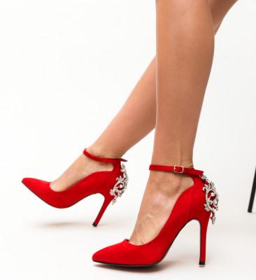 Pantofi Lumo Rosii