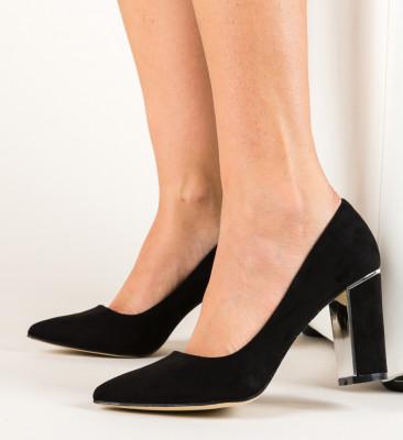 Pantofi Mikono Negri