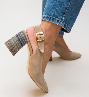Pantofi Palalama Bej