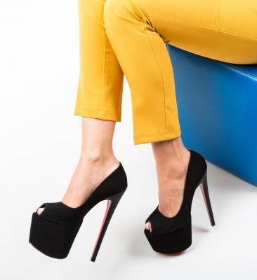 Pantofi Quker Negri 3