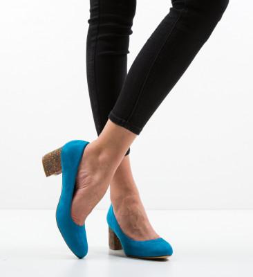 Pantofi Sahara Albastri