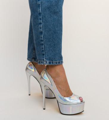Pantofi Sanny Argintii