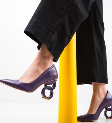Pantofi Simoni Mov