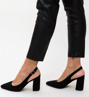 Pantofi Snider Negri