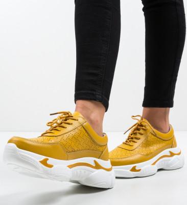 Pantofi Sport Dumini Galbeni