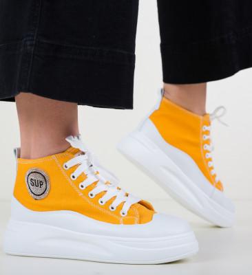 Pantofi Sport Dumpo Galbeni