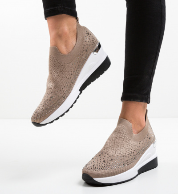 Pantofi Sport Gissele Khaki