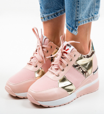 Pantofi Sport Hibara Roz