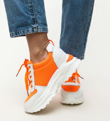 Pantofi Sport Marone Portocalii