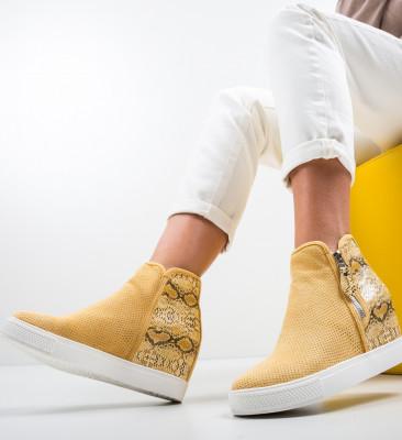Pantofi Sport Pham Galbeni