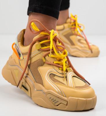Pantofi Sport Rekom Camel