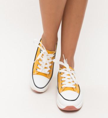 Pantofi Sport Sedy Galbeni