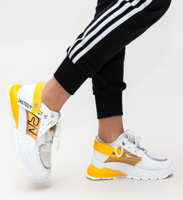 Pantofi Sport Verdana Galbeni