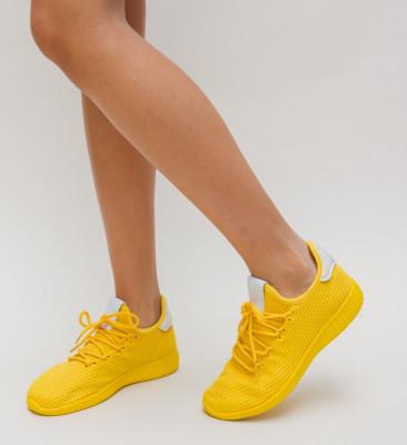 Pantofi Sport Zoha Galbeni