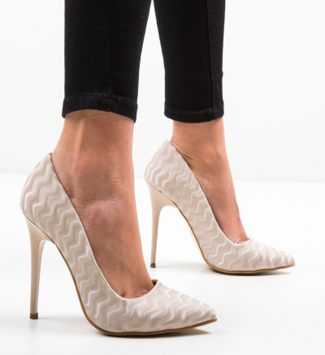 Pantofi Stormwind Bej