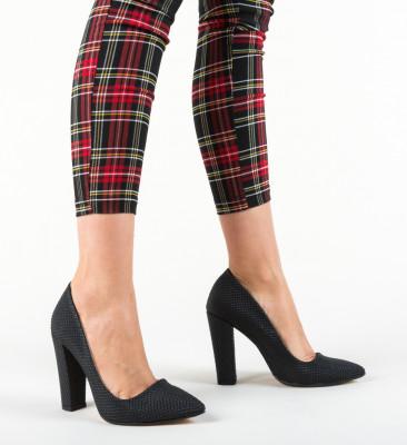 Pantofi Sunshine Negri 4