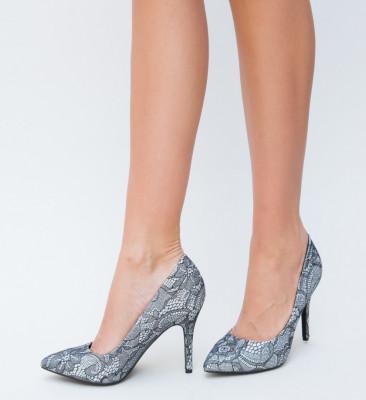 Pantofi Suprem Argintii