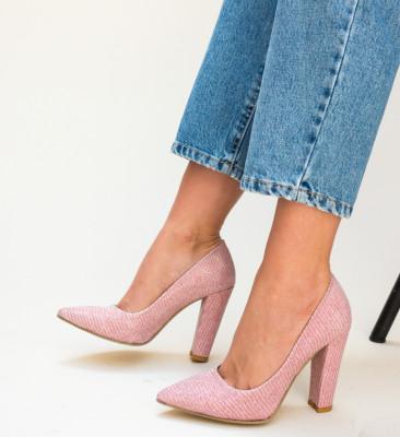 Pantofi Tasi Roz