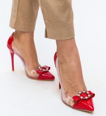 Pantofi Troli Rosii