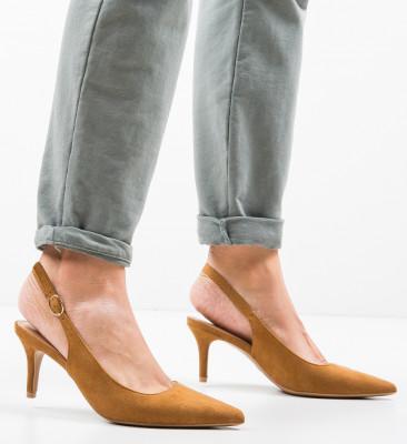 Pantofi Umaiz Camel