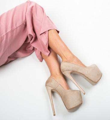 Pantofi Yras Bej