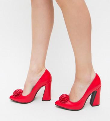 Pantofi Zenne Rosii