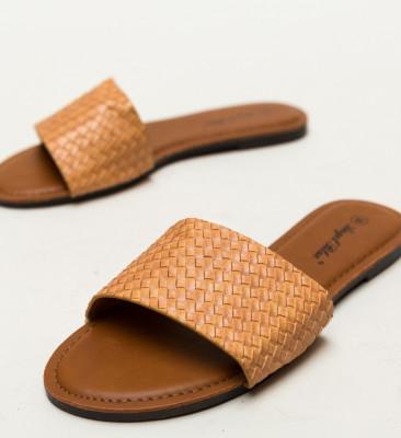 Papuci Brax Camel