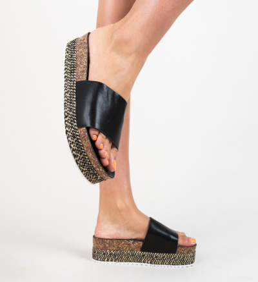Papuci Draper Negri