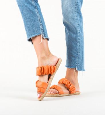 Papuci Lajah Portocalii