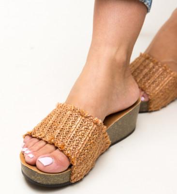 Papuci Otineli Camel