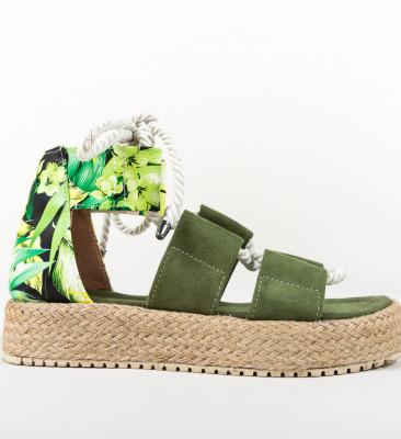 Sandale Boxero Verzi 2