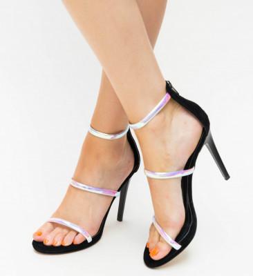 Sandale Cu Toc Kim Roz Mix