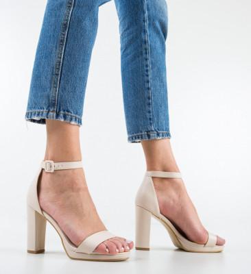 Sandale Deficie Bej