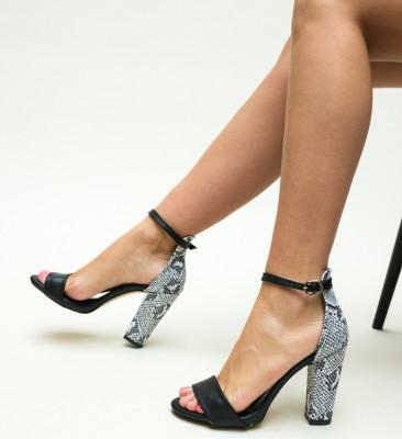 Sandale Defne Negre 3