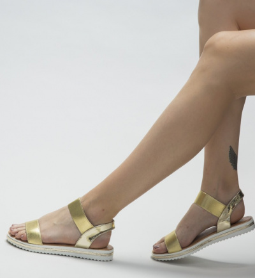 Sandale Edith Aurii