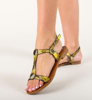 Sandale Egila Galbene