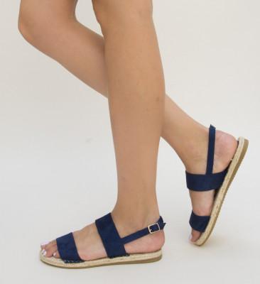 Sandale Geda Bleumarin