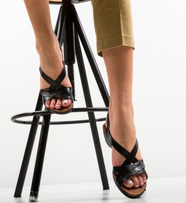 Sandale Hexago Negre