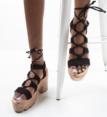 Sandale Kaif Negre